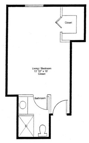 Homestead Village of Fairhope huntingdon queen studio floor plan