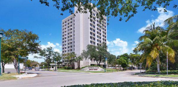 Imperial Club exterior building in Aventura, Florida