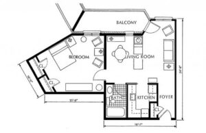 St. Martin's in the Pines large floor plan