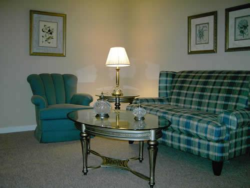 Senior Villages model living room