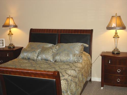 Senior Villages model bedroom
