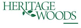 Heritage Woods logo