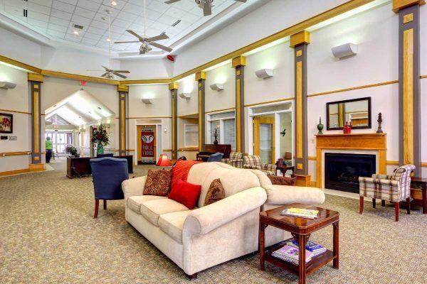 The Madison Village community living room