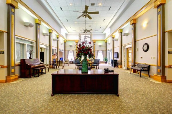 The Madison Village community lobby