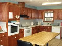 Oakland Place community kitchen
