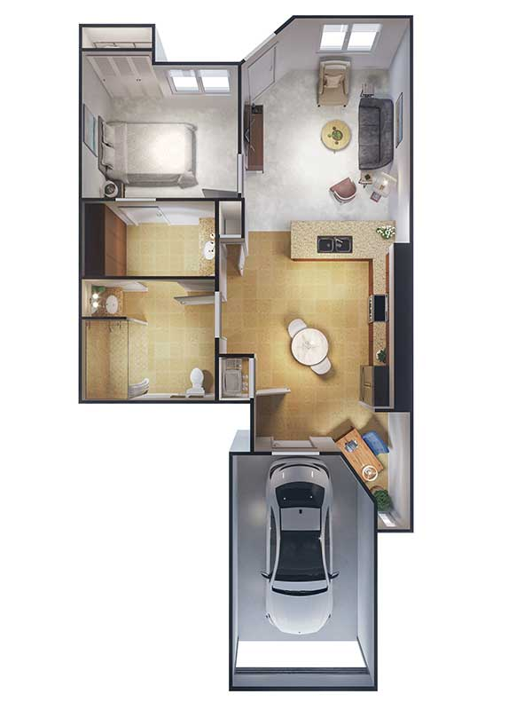 Ponte Palmero floor plan 1