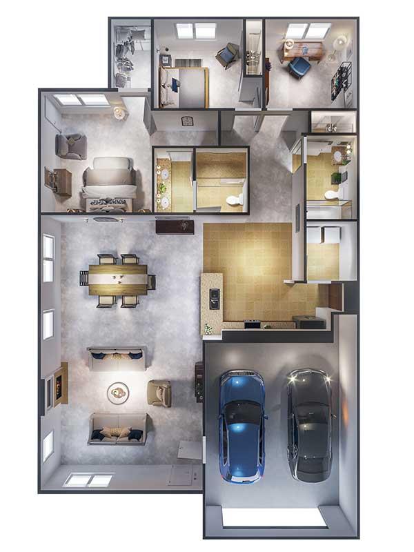 Ponte Palmero floor plan 3