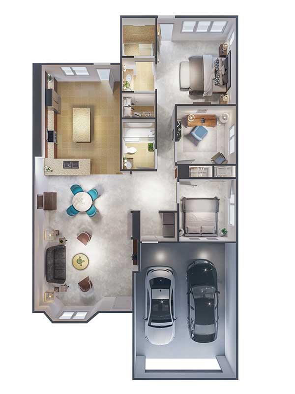 Ponte Palmero floor plan 4