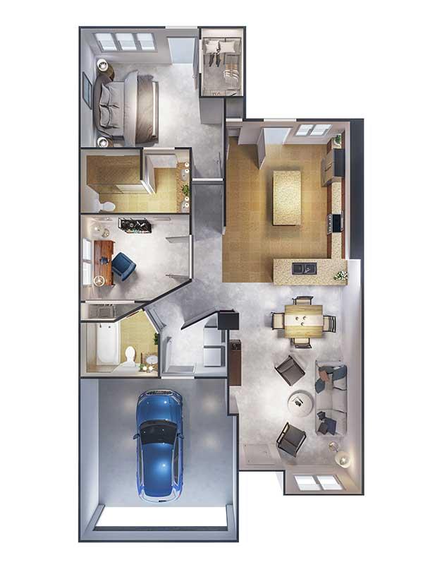 Ponte Palmero floor plan 5