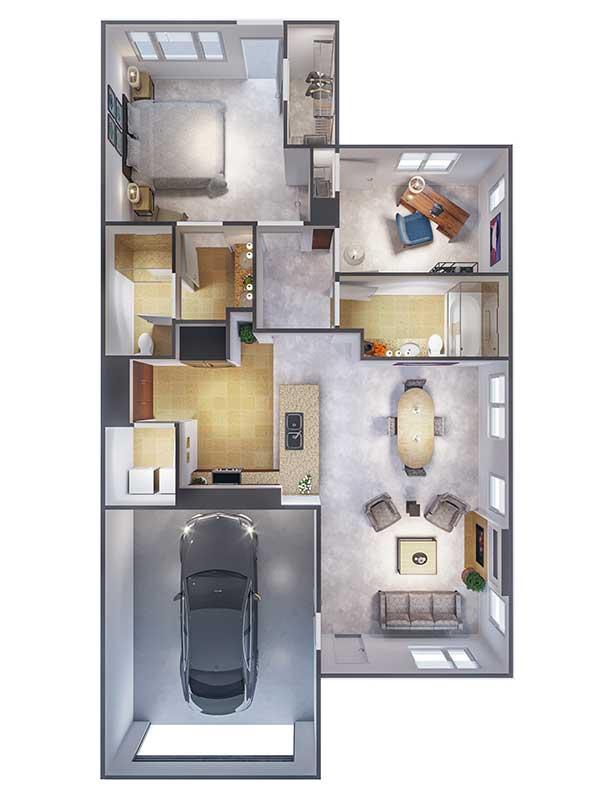 Ponte Palmero floor plan 6