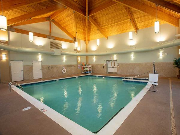 Brightmore of South Charlotte indoor swimming pool