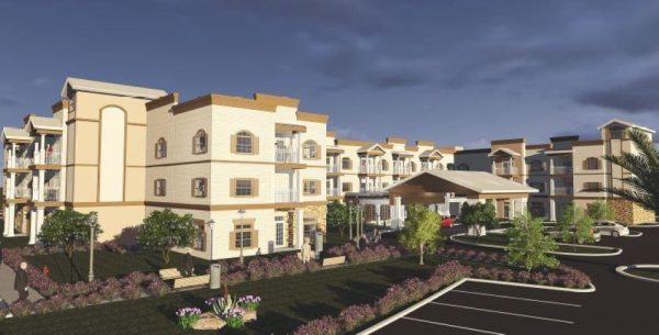 Exterior rendering of Seagrass Village of Fleming Island