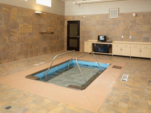 Therapy pool in SilverCreek on Main