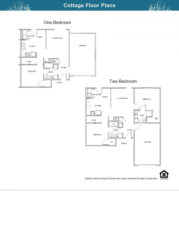 The Village at Southlake Cottage floor plans