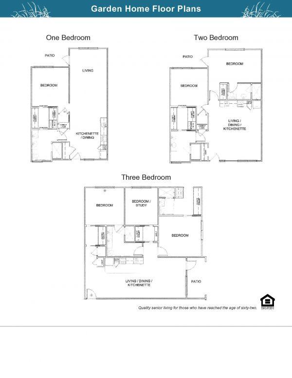 The Village at Southlake Garden Home floor plans