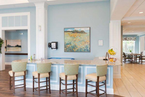 The Arbors of Gulf Breeze breakfast bar