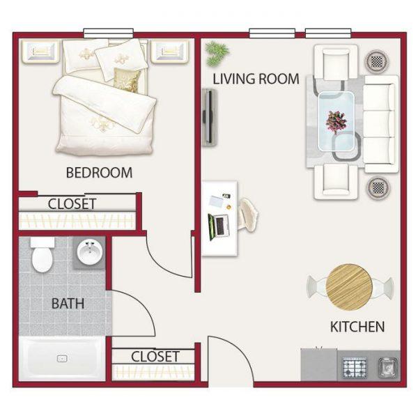 Hilltop Commons floor plan 2