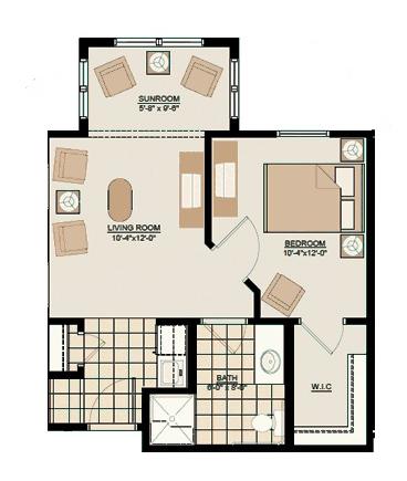 Canterfield of Bluffton triple crown floor plan