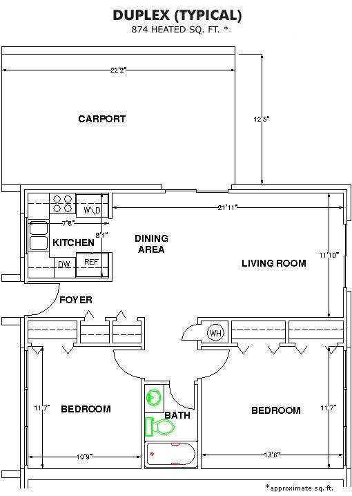 The Methodist Oaks wesley pines floor plan