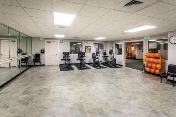 Preston Pointe community fitness center