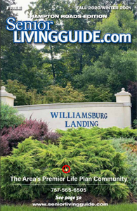 Hampton Roads SeniorLivingGuide Winter 2020