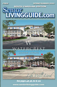 SeniorLivingGuide.com SC Spring/Summer 2020 Cover