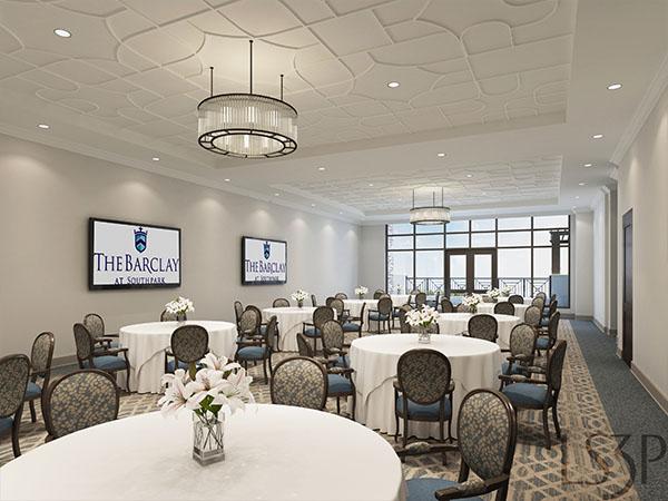 The Barclay at SouthPark multi purpose room