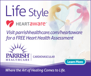 Parrish Healthcare Spring Display Ad