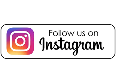 Follow us on Instagram button