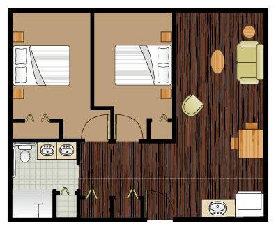 Discovery Village At Deerwood Hawthorn floor plan