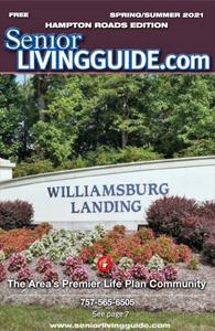 Hampton Roads SeniorLivingGuide cover