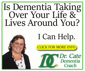 Dr Cate Dementia Care banner