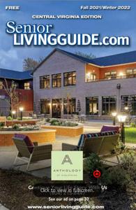 Central Virginia Senior Living guide cover