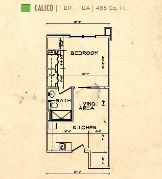 Bay Port of Fort Walton Beach floor plan 2