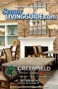 Hampton Roads Senior Living Guide cover
