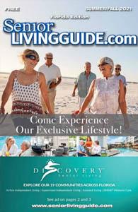 Senior Living Guide cover