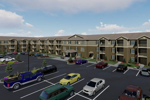 Connect55+ Wichita New Construction Rendering